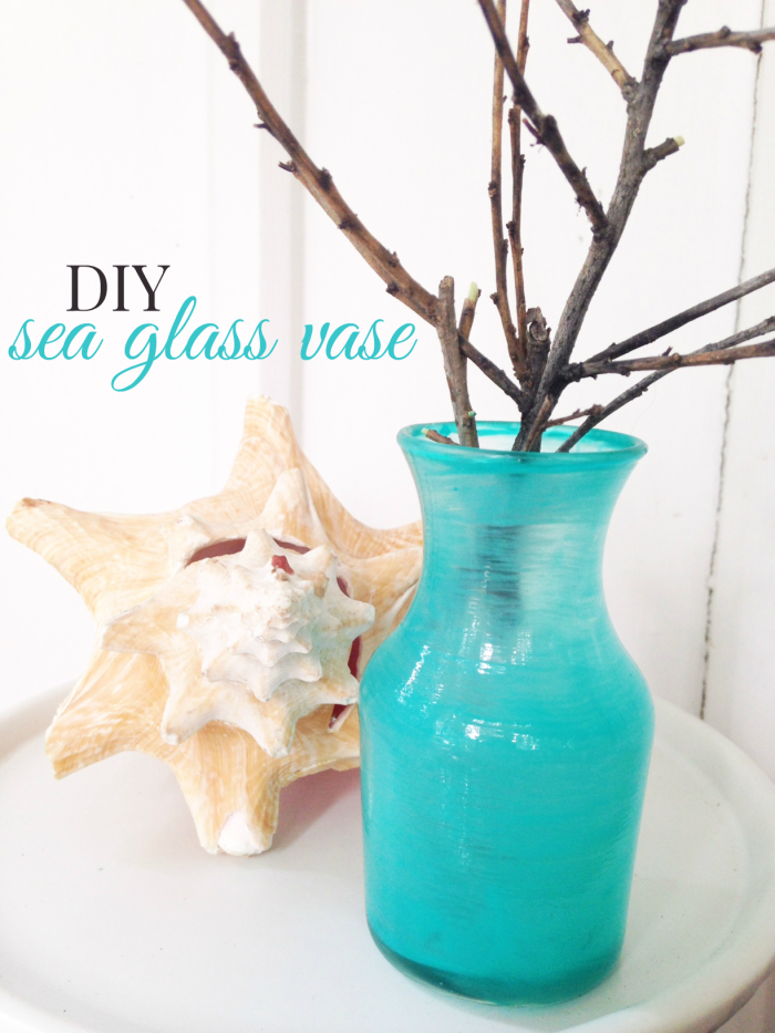 DIY Sea Glass Vase - Sunny Sweet Days - HMLP 74 - Feature