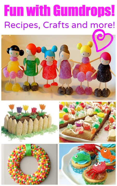 Fun With Gumdrops - Recipes, Crafts and More! - Daily Holiday Blog - HMLP 75 - Feature