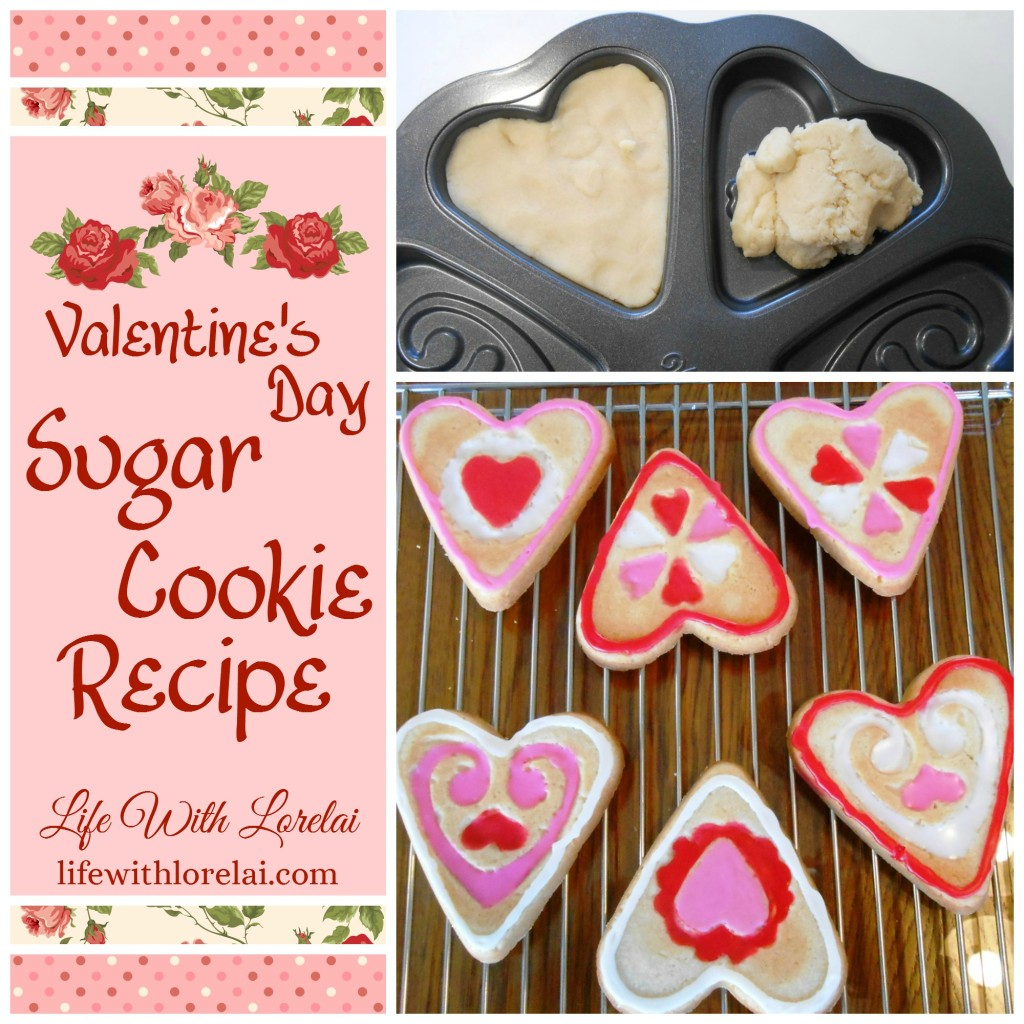 Valentine S Day Sugar Cookie Recipe Life With Lorelai