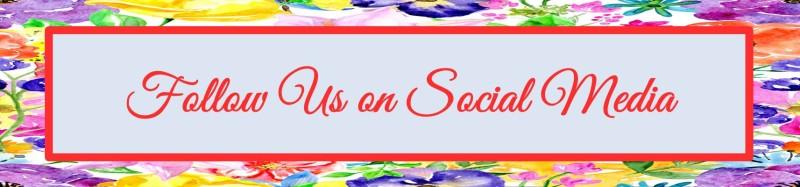 Follow us on Social Media - Spring 2016