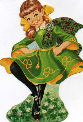 Irish Dancing Girl