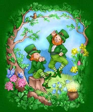 Leprechauns and Pot of Gold