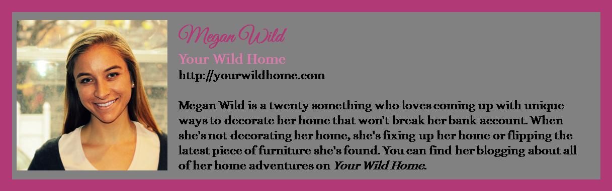 Megan Wild - Your Wild Home - Winter 2016