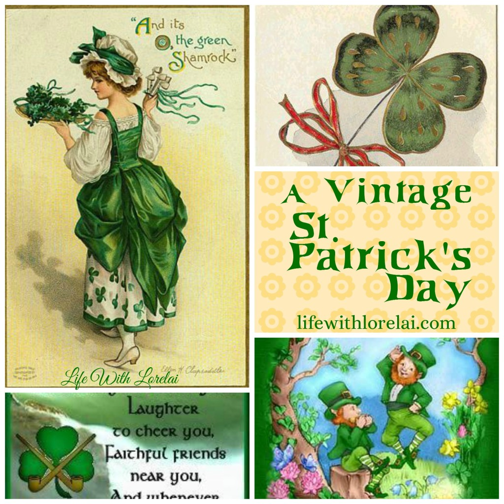 Vintage St. Patrick's Day - Life With Lorelai
