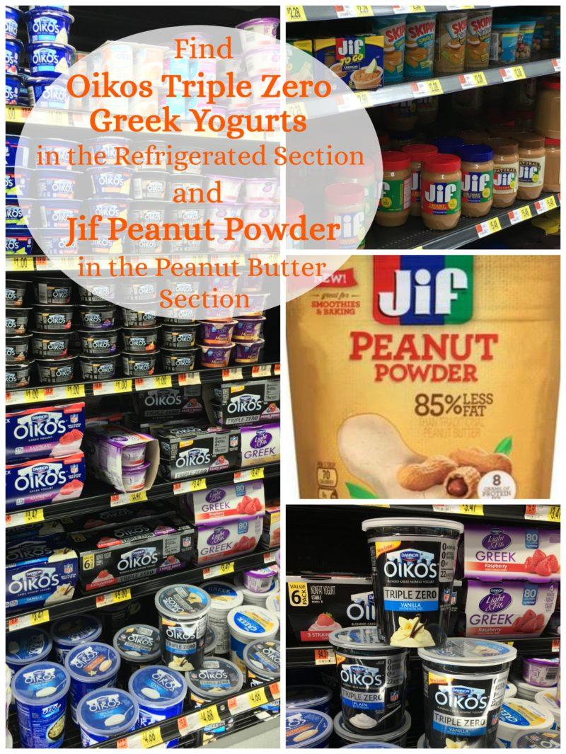 Jif-Peanut-Powder-Dannon-Oikos-Triple-Zero-Yogurt-Walmart