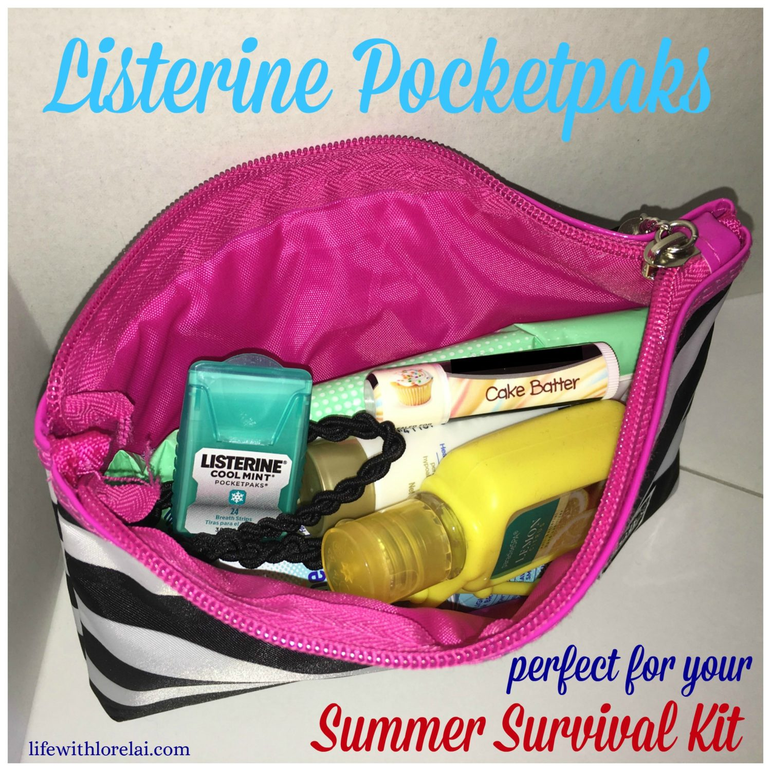 Listerine-Pocketpaks-perfect-summer-survival-kit