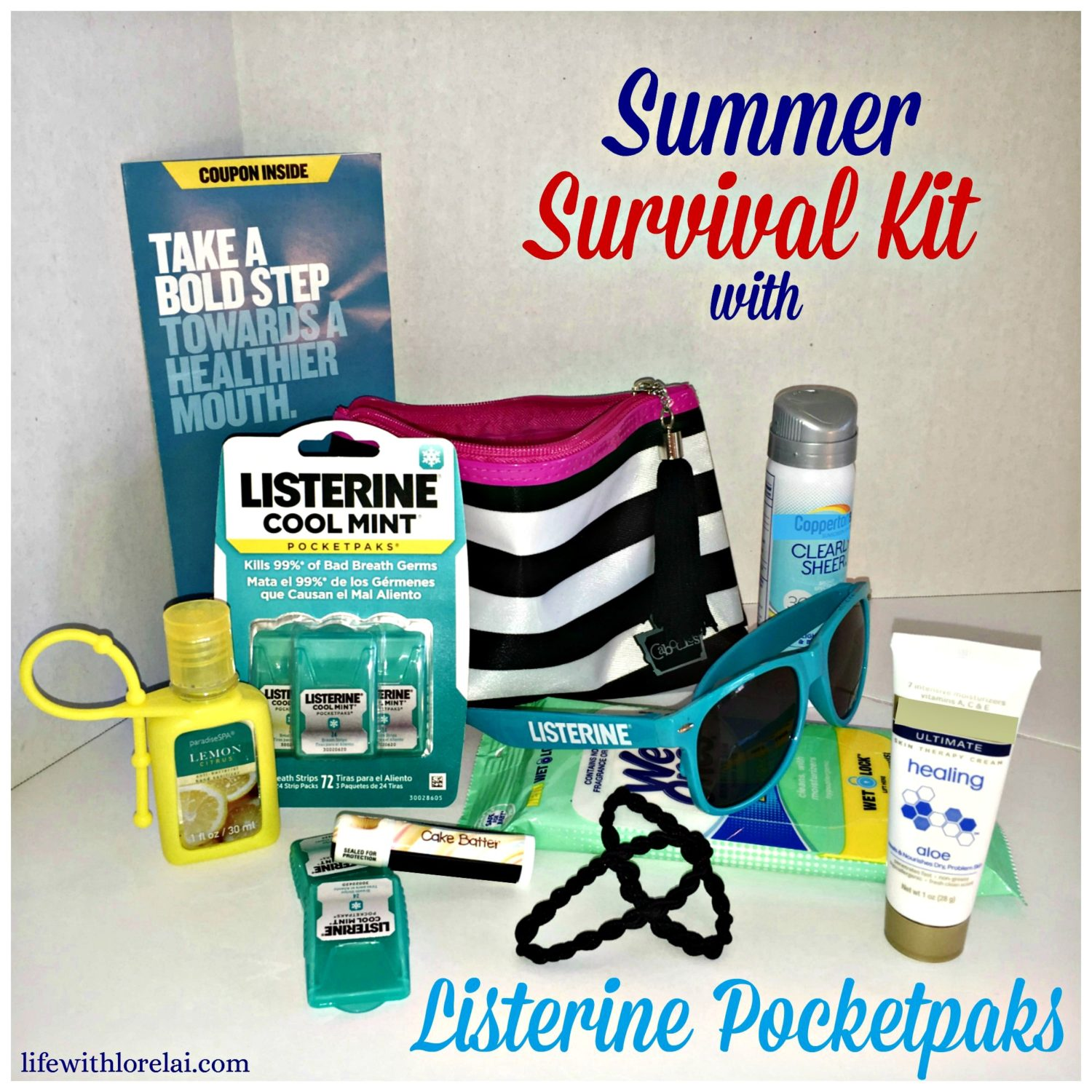 Summer-Survival-Kit-Listerine-Pocketpaks