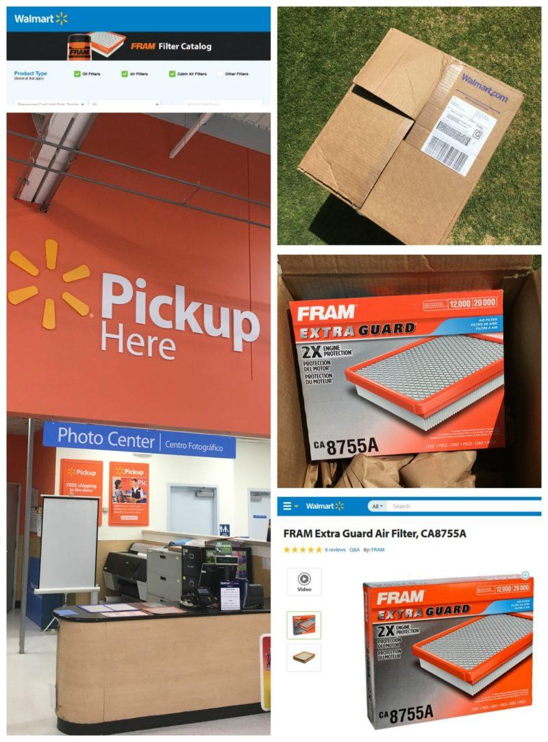 Walmart-Pick-Up-Store-Online-FRAM-Air Filter