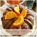 Fresh Orange Bundt Cake Recipe