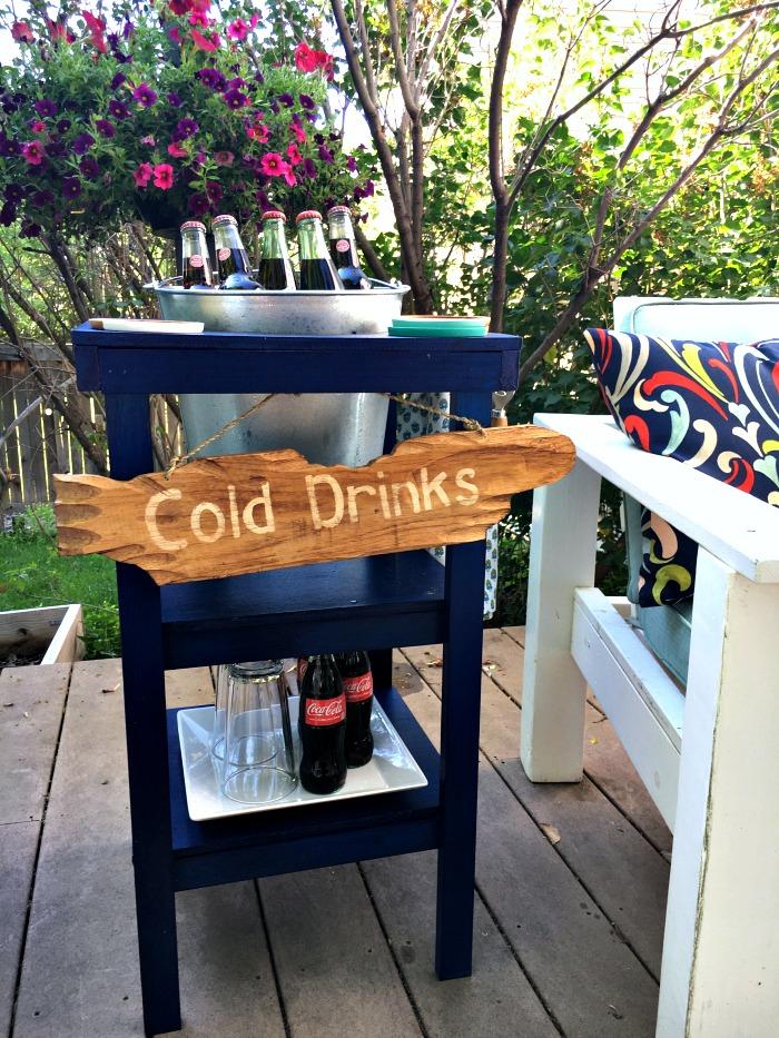 DIY Beverage Station - Inspiration For Moms - HMLP 93 - Feature
