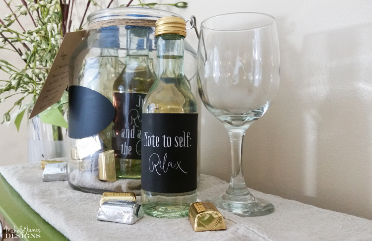 Michelle - June 28 - Wine and Chocolate Gift Jar - Pic 6
