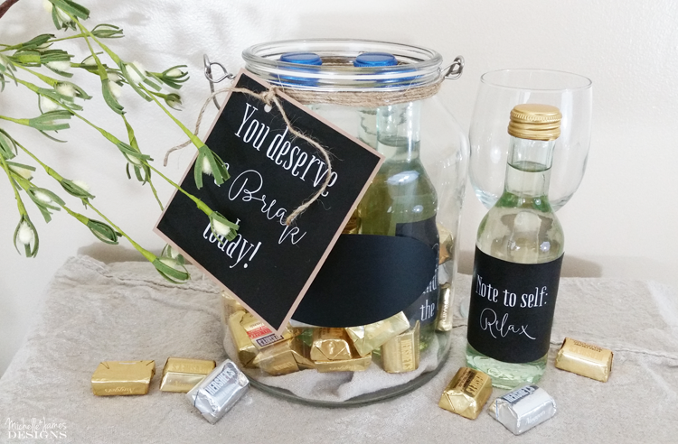 Michelle - June 28 - Wine and Chocolate Gift Jar - Pic 7