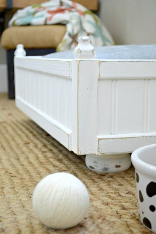DIY Small Pet Bed Plans - H2O Bungalow - HMLP 97 - Feature