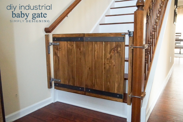 Industrial DIY Baby Gate - Simply Designing - HMLP 97 - Feature