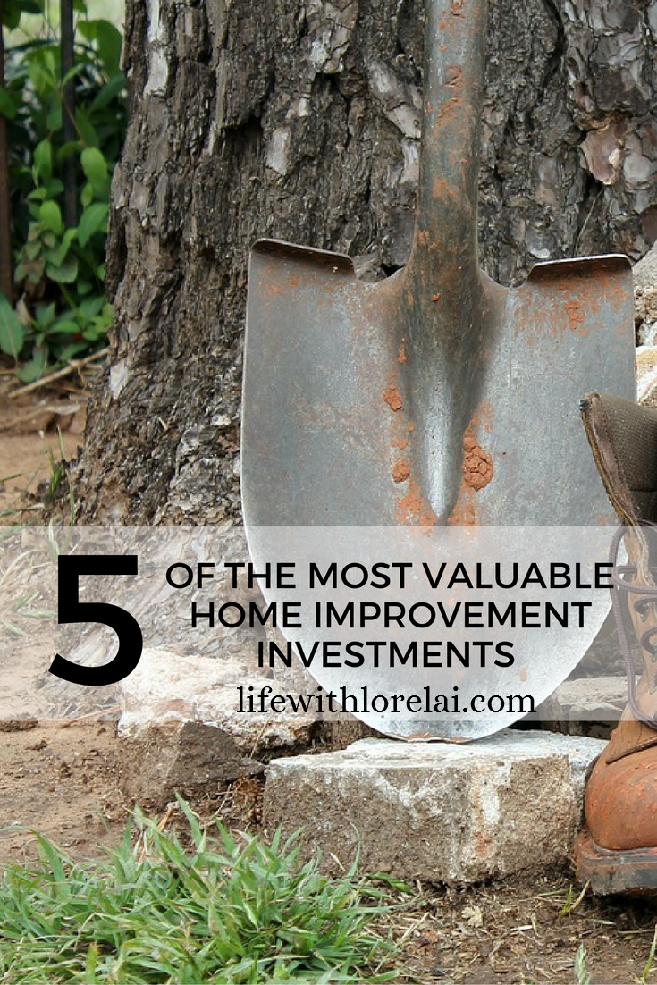 5 Most Valuable Home Improvement Investments - make the most of time and energy, ensure you have the right tools for the job. #Home #Improvement #Tools