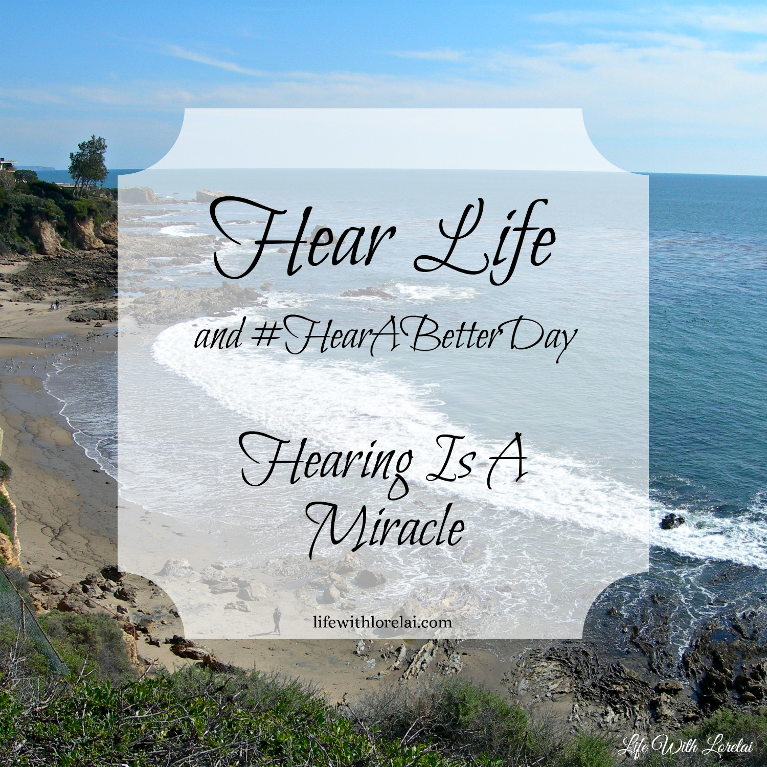 Hear Life and #HearABetterDay with Miracle-Ear. Hearing is a miracle, Schedule a FREE hearing test today. #Mircale-Ear #hearingloss #hearingaid #free AD