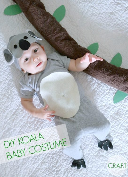 Koala Bear Baby Costume - Creating Really Awesome Fun Things - HMLP 101 - Feature