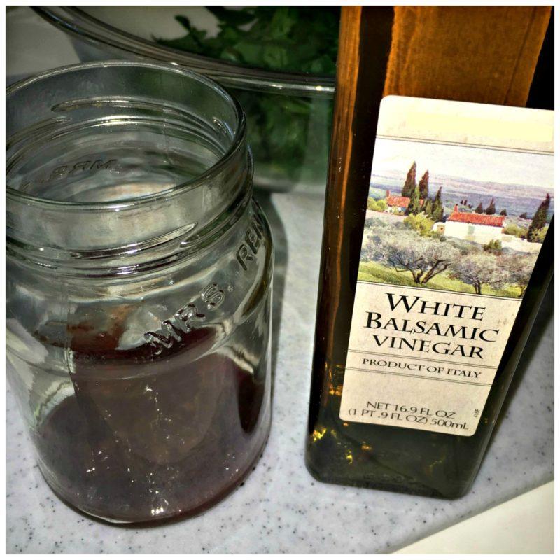 Making-Vinaigrette-Strawberry-Jalapeno-White-Balsamic-Vinegar