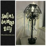 Solar Lamp DIY For Outdoor Living