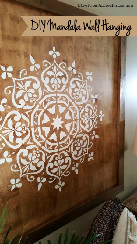 DIY Mandala Wall Hanging - Live From Julie's House - HMLP 103 - Feature