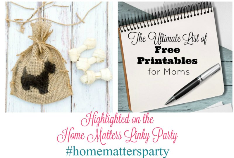 Home Matters Linky Party #105 - Come join the fun and link your blog posts -- Door Opens Friday EST. #HomeMattersParty #Linky #Blogging #LinkyParty