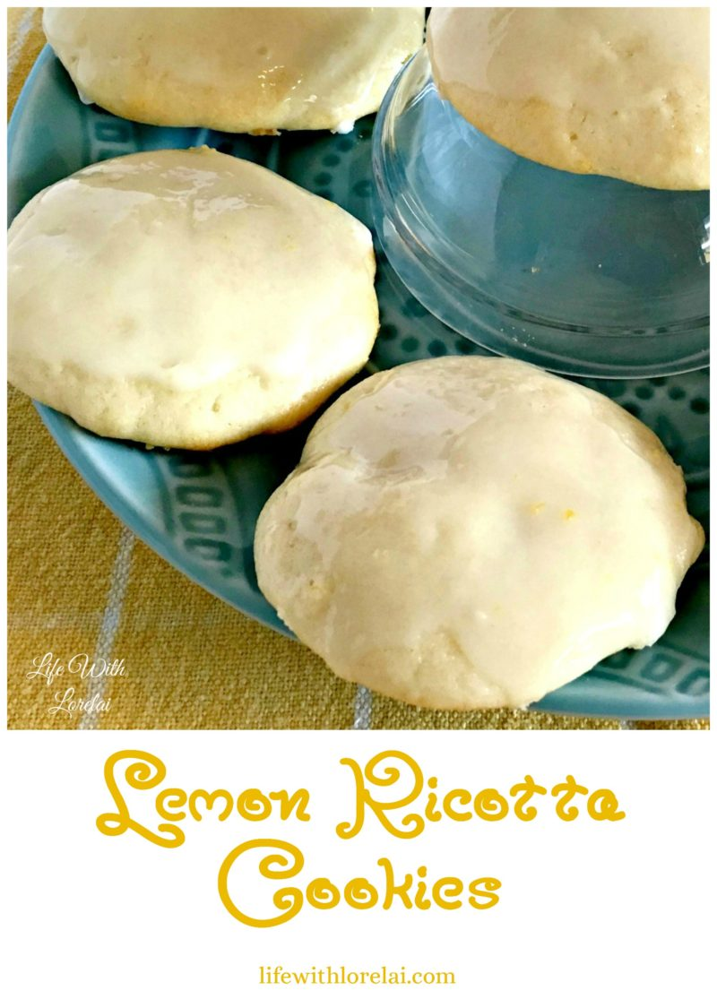 Lemon Ricotta Cookies - A deliciously fresh recipe. This flavorful cookie has a heavenly aroma.