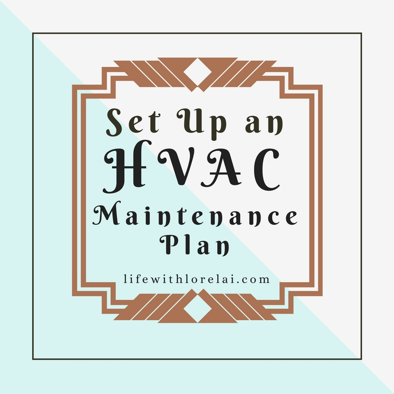 Set Up an HVAC Maintenance Plan for your home. Regular checks, repairs, and maintenance. #HVAC #Heating #AirConditioning #Home