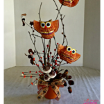 Hoot Owl Craft – DIY Centerpiece For Autumn