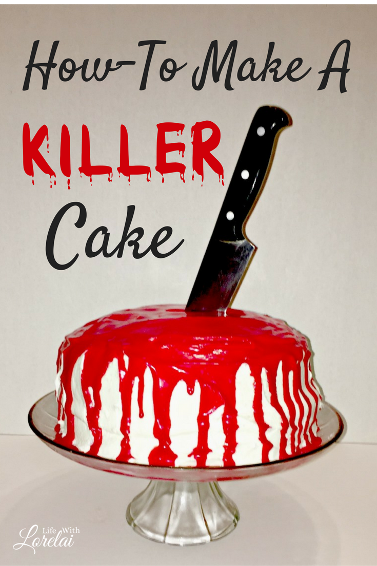 If you are dying to make a Killer Cake, you've come to the right place! This recipe will slay your guests at your next Halloween or a Mystery Party.