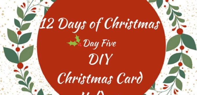 Fun and festive DIY card holders for your Christmas cards. 12 Days of Christmas Ideas Blog Hop has got loads of ideas for celebrating the holidays.