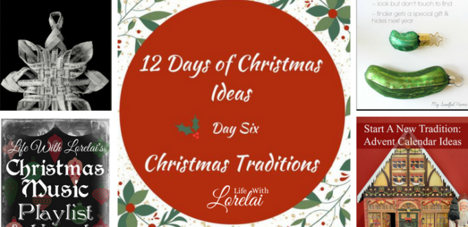 Christmas Traditions bring family and friends together. 12 Days of Christmas Ideas Blog Hop has got loads of ideas for celebrating the holidays.
