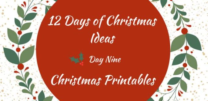 Christmas Printables makes the holidays fun, festive and easy! 12 Days of Christmas Ideas Blog Hop has got loads of ideas for celebrating the holidays.