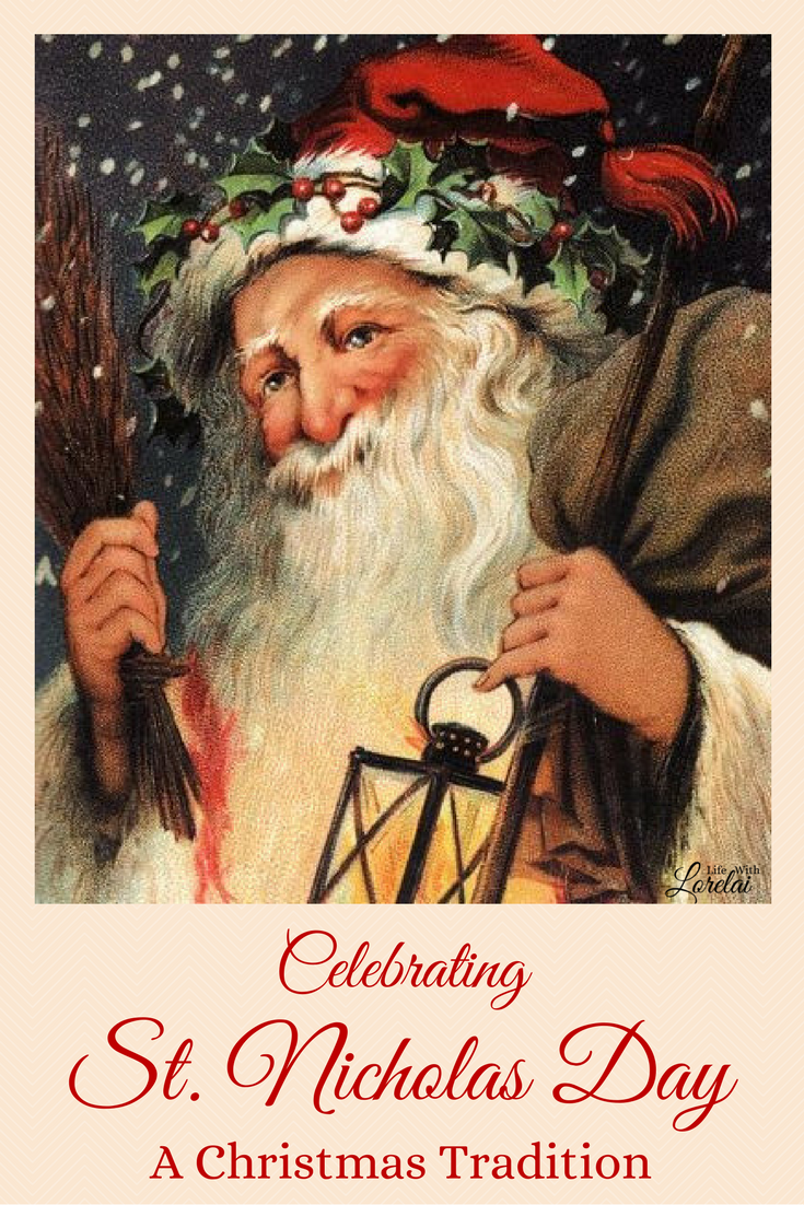 St. Nicholas Day is a German family christmas tradition brought to the United States. Celebrated on December 6th.