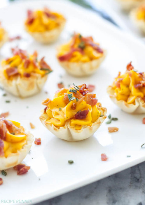 Mini Bacon Butternut Squash Cups - Spoonful Of Flavor - HMLP 111 Feature