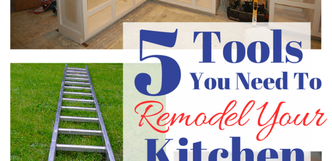 Any job requires tools and having the right tools for the job makes everything easier. Find out the 5 must-have tools for a kitchen remodel.