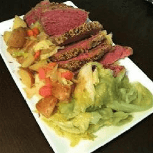 Corned Beef and Cabbage-Marilyns Treats-HMLP 123 Feature