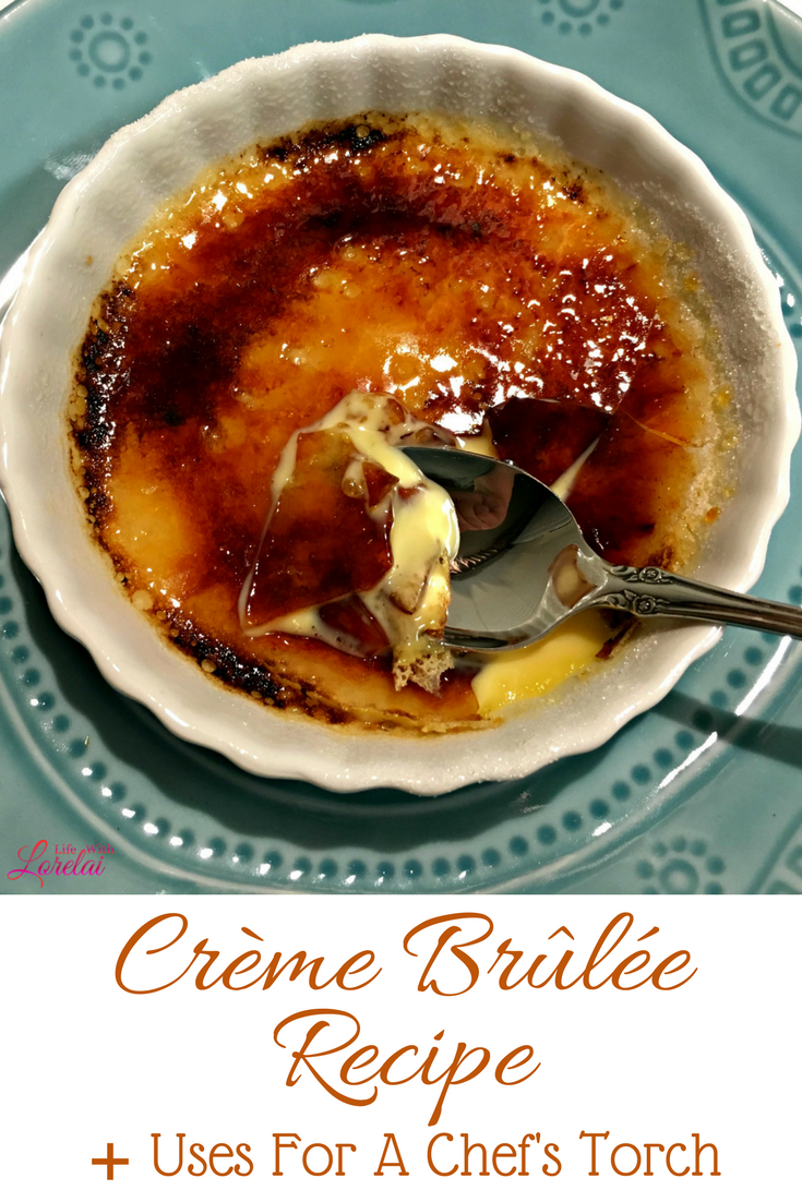 Impress your family and friends with this delicate and delicious Creme Brulee - a perfect dessert for entertaining. Plus get tips for using a Chef's Torch.