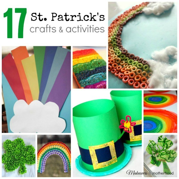 17 St. Patrick's Crafts & Activities - Makeovers & Motherhood - HMLP Feature 125