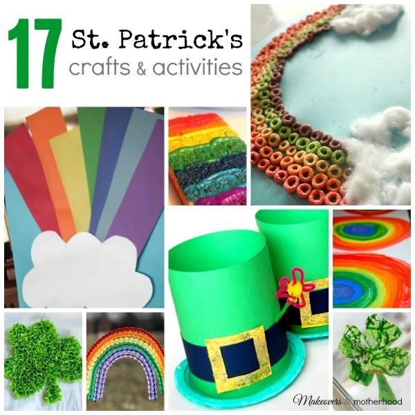 17 St. Patrick's Crafts & Activities - Makeovers & Motherhood - HMLP Feature 125