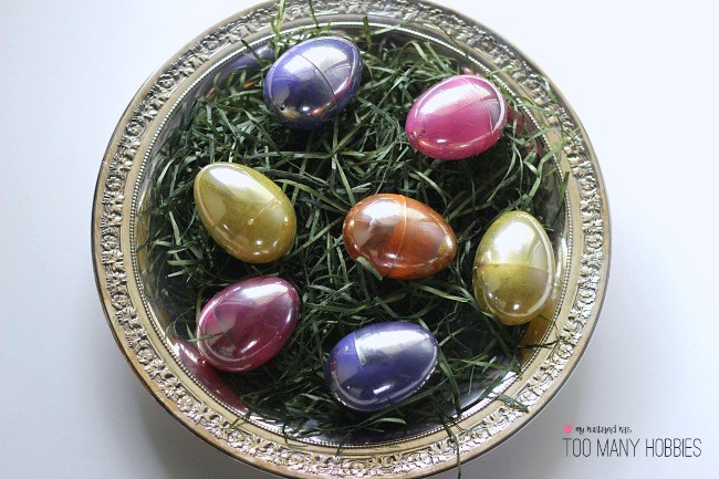 Looking Glass Easter Eggs -My Husband Has Too Many Hobbies - HMLP Feature 129