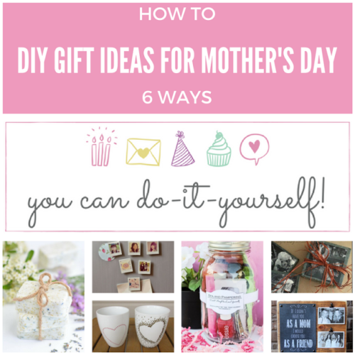 DIY Gift Ideas For Mother's Day - Keeping It Real - HMLP Feature 133