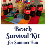 Beach Survival Kit For Summer Fun
