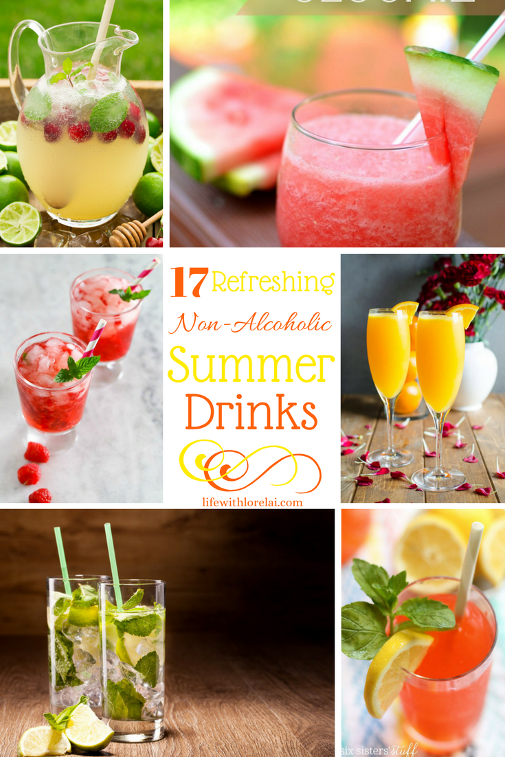 17 non alcoholic drink recipes refreshing summer life