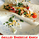 Grilled Barbecue Ranch Chicken Tacos Recipe