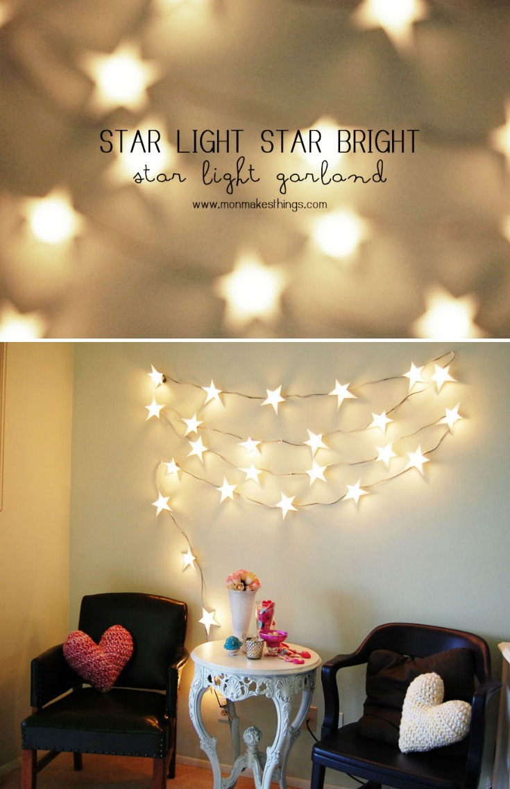 Everybody loves twinkling lights. So, let's have fun and get creative with some great DIY ideas for decorative string lights for home decor and parties!