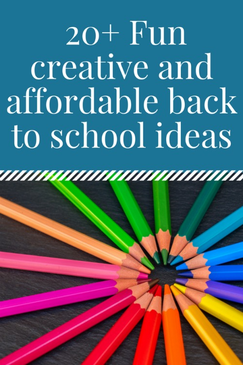 20+ Fun Creative & Affordable Ideas For Back To School - A Fresh Start On A Budget - HMLP 147 Feature