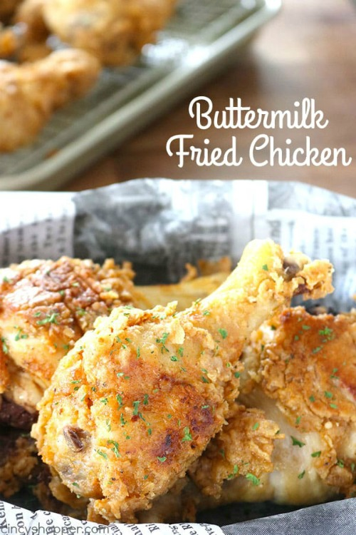 Buttermilk Fried Chicken - Cincy Shopper - HMLP 149 Feature