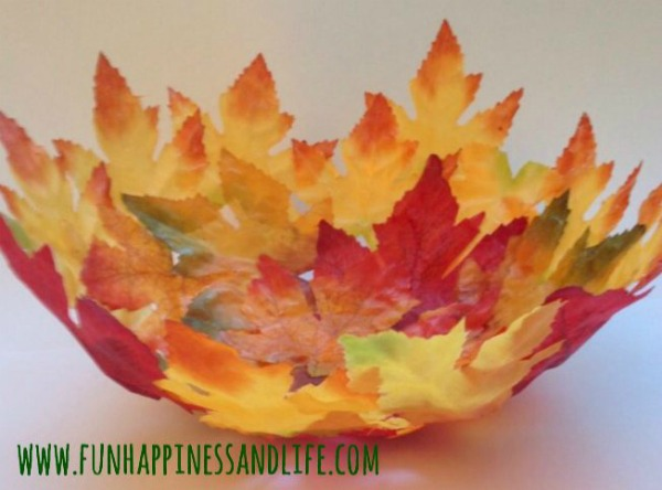 DIY Leaf Bowl - Fun, Happiness & Life - HMLP 149 Feature