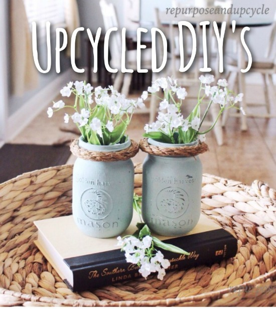 Easy Upcycled DIY's For Budget Friendly Decorating - Repurpose and Upcycle - HMLP 147 Feature