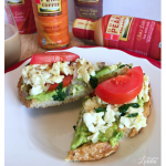 Avocado Eggs Florentine Toast Recipe